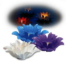Pool Floating Flower Candles,  Pool, Water Feature for Weddings, Parties, New!
