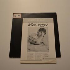 "MICK JAGGER - Lucky in love - 1985 BRAZIL 12"" PROMO SAMPLE"