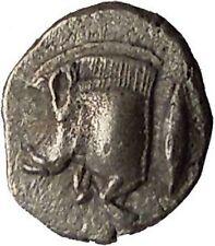 KYZIKOS in MYSIA 480BC Boar Tuny Fish Lion Ancient Silver Greek Coin i36537