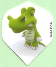 """Amazon Extra Strong Cartoon Dart Flights """"Crocodile"""""""