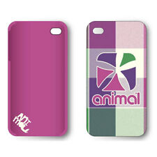 Animal Tech Check Hard Shell for iPhone 4 4S - Fluro Pink