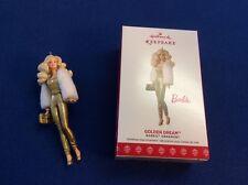 Barbie: Golden Dream 2017 Hallmark Keepsake ornament in orig box, Limit Edition