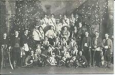 Alte Fotografie / Fotokarte 1911 Maskenball der Bürgergesellschaft Esslingen