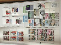 Netherlands 1970-1995 period mnh stamps incl 2 child sets + miniature sheets