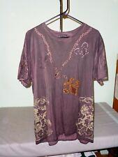 Bulzeye Men's Luxury Graphic Sequin Bling Tee Size XL Scoop Neck T-Shirt #4