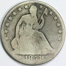 1854-O Seated Liberty Half Silver Dollar COIN 50C