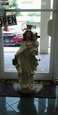 STATUE ESTATUA OF VIRGEN DE LA MERCED MERCEDES (OBATALA OBB) RELIGION YORUBA IFA