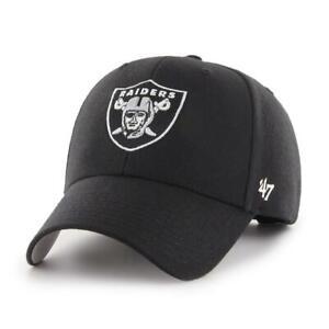 Las Vegas Raiders 47 Brand MVP Wool Adjustable Field Hat Cap NFL