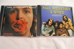 Paul McCartney & Wings, Unsurpassed Masters Vol. 1 & 2, Strawberry Records, 1994