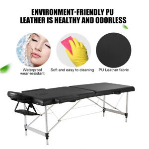 Massage Table Bed Portable Couch Section Folding Beauty Therapy Tattoo Tables