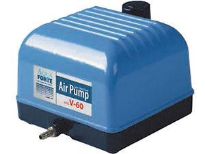 Sauerstoffpumpe Air Pump V10-60 Teichbelüfter Teich Belüfter Luftpumpe Aquarium