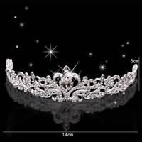 Bridal Princess Crystal Prom Crown Headband Party Wedding Jewelry Hair Tiara
