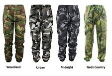 Mens Army Military Trousers Hunting Shoot Camouflage Camo Joggers Jogging Bottom