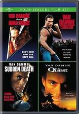 Van Damme Action Pack Quadruple Feature (Timecop / Hard Target / Street Fighter