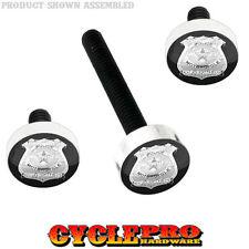 Windshield Bolt Kit for 14-Up Harley Electra & Street POLICE BADGE - 020