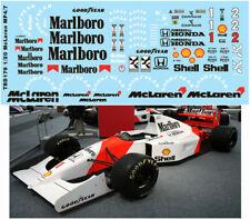1/20 McLaren MP4/7 AYRTON SENNA TAMIYA DECALS TB DECAL TBD179