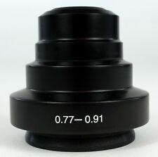 Microscope darkfield condenseur na0.77 - 0.91, avant de marque (ID80)
