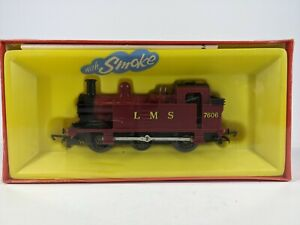 Triang Hornby R52 LMS Jinty 0-6-0 7606 BOXED