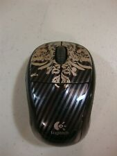 Logitech Wireless Mouse M305, includes receiver/dongle, Victorian Wallpaper