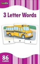 Flash Kids Flash Cards 3 Letter Word Flash Cards