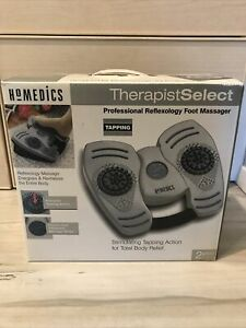 NEW HoMedics TherapistSelect Professional Reflexology Foot Tapper Massager RFX-1