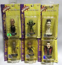 HORROR: MAMMA, Dracula, Fantasma, sposa di Frankenstein, WOLF MAN & creatura Set