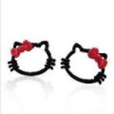 CAT earring HELLO KITTY stud earring CHILDRENS jewellery animal earring