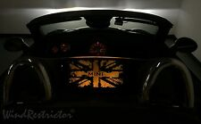 WindRestrictor ® for Mini Cooper Roadster LED lighted wind blocker deflector NEW