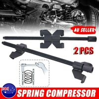 2x Coil Spring Compressor Strut Clamp Car Suspension Automotive Tool Set 38cm