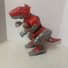 2015 Red T-Rex Zord Dinosaur Imaginext Mattel Mighty Morphin Power Rangers 10?