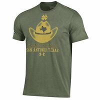 Under Armour NCAA Men's Notre Dame Irish Shamrock Series Charged Cotton T-Shirt