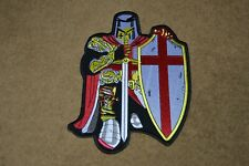 ENGLAND St George back patch heat transfer iron or sew on