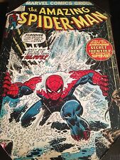 "Marvel Comics The Amazing Spiderman 151 Print Cover Wood Wall Plaque 13""x19.5"""