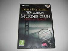 James Patterson-Women 's Murder Club DEATH IN SCARLET PC CD ROM Neu Versiegelt
