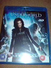 UNDERWORLD AWAKENING - KATE BECKINSALE - BLU-RAY 3D (B) NEW