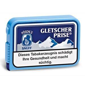 Gletscher Prise 10g Schnupftabak von Pöschl
