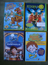 4 DVD'S-RATATOULLE / HORRID HENRY / SCOOBY DOO THE MOVIE / SHAGGY & SCOOBY-DOO
