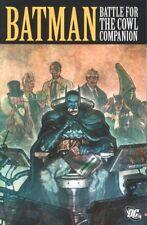 BATMAN BATTLE FOR THE COWL COMPANION TPB GOOD CONDITION