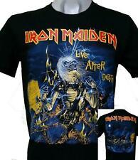 Iron Maiden Live After Death Tour - Cotton T-Shirt Regular  Size S-3XL
