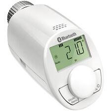 Eqiva Elektronik Heizkörperthermostat Bluetooth Smart, glänzendes Gehäuse