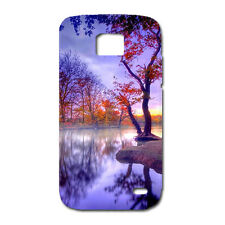 CUSTODIA COVER CASE LAGO NATURA ALBERI LAKE PER SAMSUNG GALAXY S2 PLUS I9105