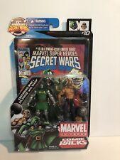 MARVEL UNIVERSE COMIC PACKS SECRET WARS ABSORBING MAN & DR DOOM WITH WASP 2009