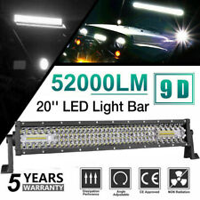 20inch 450W LED Light Bar Dual Row Spot Flood Combo Work 4WD UTE Truck SUV ATV