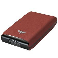 TRU VIRTU Leather Aluminium CREDIT Card case - Business Purse