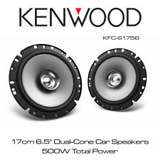 "Kenwood KFC-S1756 - 17 cm 6.5"" altavoces de coche de Cono Doble 500 W potencia total"