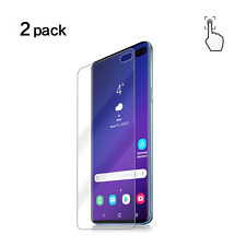 Samsung Galaxy S10 Plus Screen Protector HD Clear 3D Curved Case Friendly 2 Pack