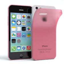Schutz Hülle für Apple iPhone 5C Cover Handy Case Matt Rosa