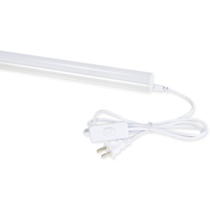 LED T5 Integrated Single Fixture, 4FT, 2200lm, 6500K (Super Bright) NEW