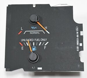 NEW Ford oil fuel gauge 1990-1991 F-150 F-250 F-350 Bronco F0TZ-9280-A