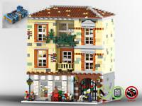Modular Blumengeschäf - MOC - PDF Bauanleitung - kompatibel mit LEGO Steine
